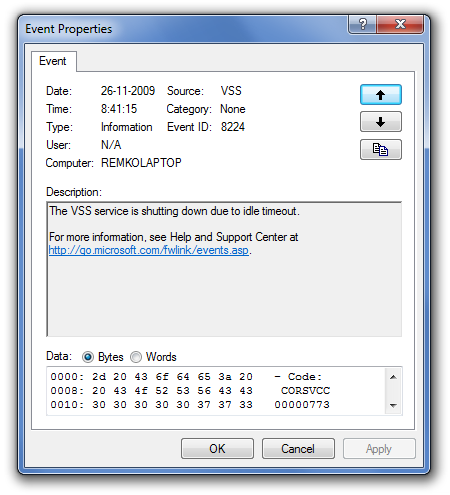 Getting Back the Classic Event Viewer in Vista and Windows 7