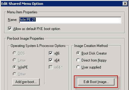 Add VMXNET3 driver to Windows PE PXE Image | Remko Weijnen's