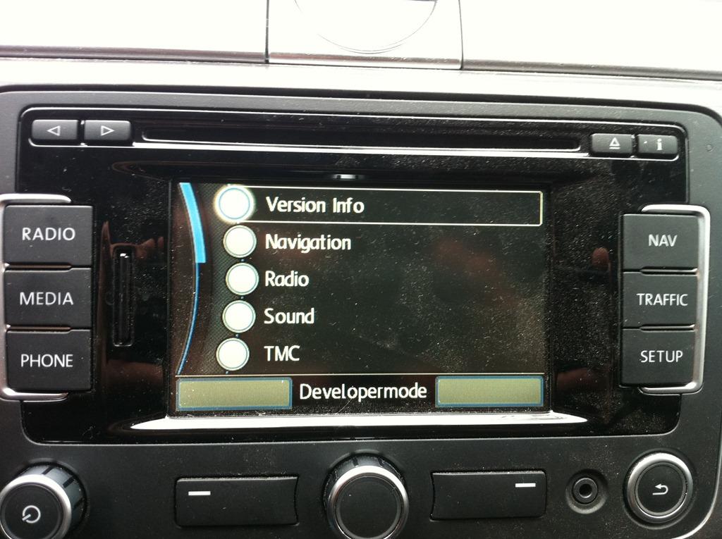 RNS 315 Enable Developer Mode | Remko Weijnen's Blog (Remko's Blog)