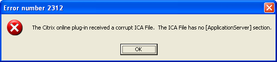 how to open citrix ica files