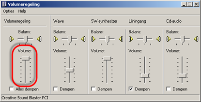 Volumeregeling