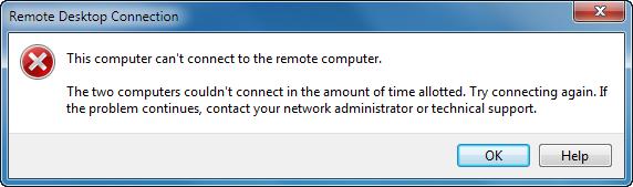RD Gateway connection fails on Windows 7   Remko Weijnen's