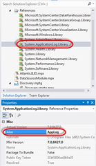 Visual Studio | Solution Explorer | References | Alias