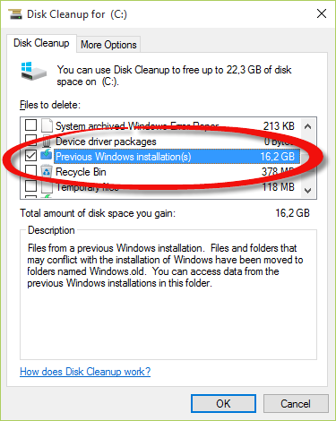 How to remove Windows old folder | Remko Weijnen's Blog